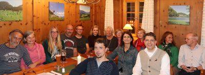 Setzen auf eine Erhöhung der Gemeinderatsmandate bei der Kommunalwahl 2020: Kandidatinnen und Kandidaten der offenen grünen Liste in Oberaudorf. Foto: esv
